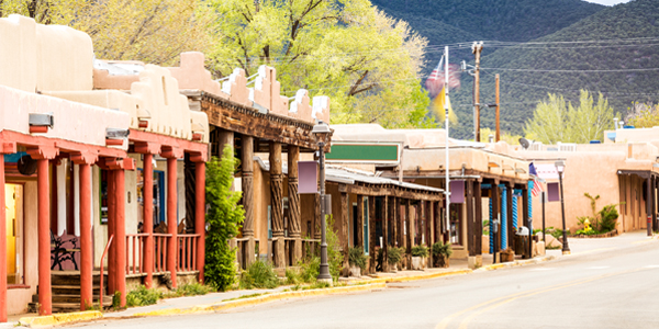 New Mexico store fronts
