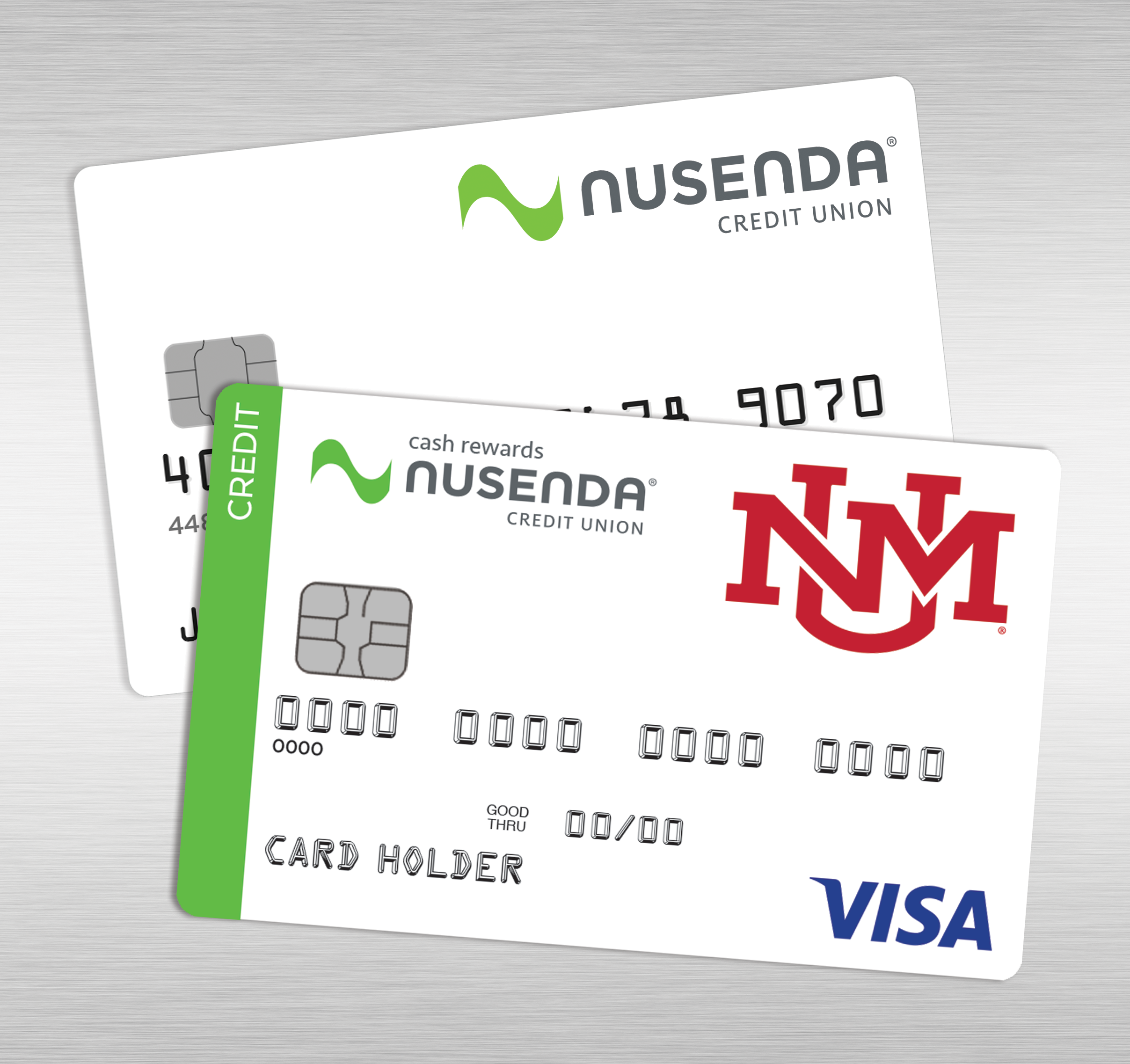 Nusenda Lobo Credit Card Art