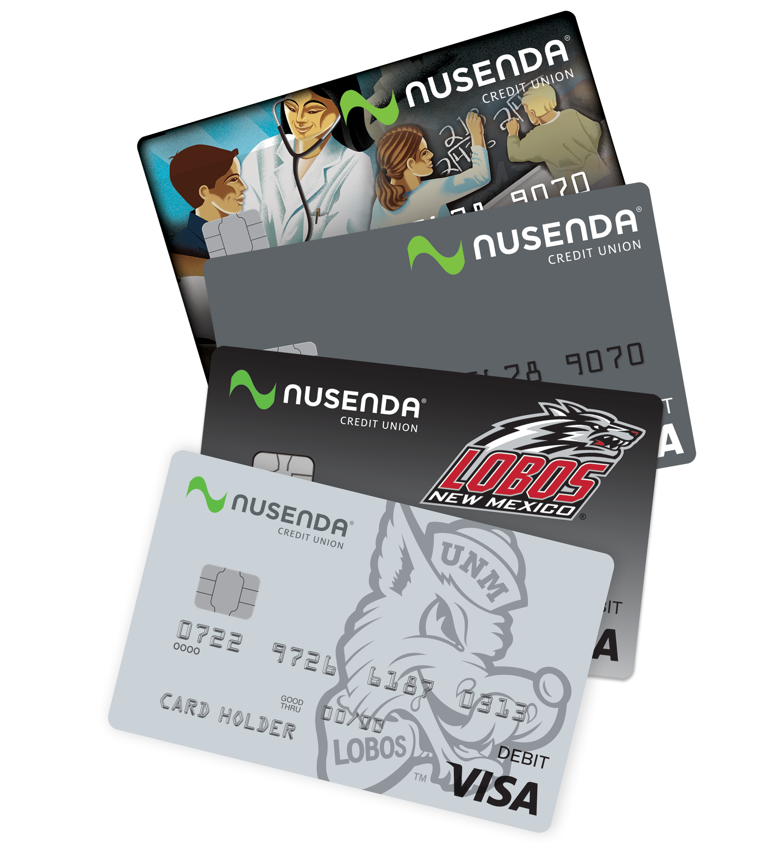 louie lobo added to the lineup of debit cards - Custom Visa Debit Card