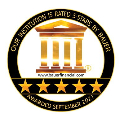 Bauer Financial Five Star Rating